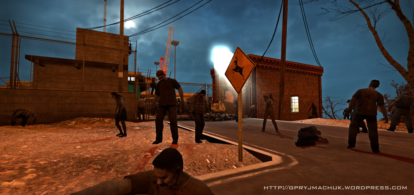 L4D - One 4 The Road - Dam entrance